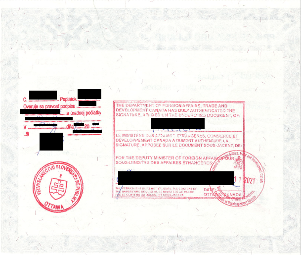 Sobasny list kanada - superlegalizacia peciatky